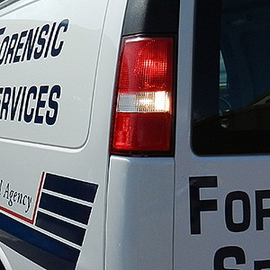 Asheville Police Department Foresnic Services Fleet Lettering