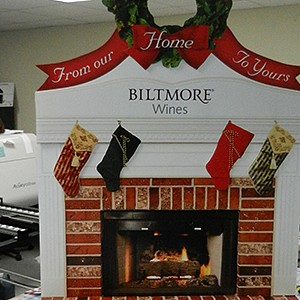 Biltmore Wines Christmas POP Displays