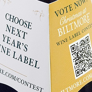 Biltmore Wines Neck Tags
