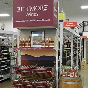 Biltmore Wines POP Displays