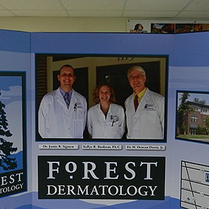 Forest Dermatology Displays
