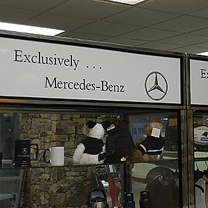 Mercedes-Benz Showroom Display