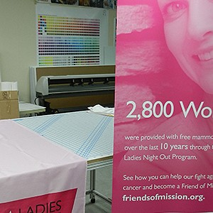 Mission Foundation Ladies Night Out Retractable Banners & Tablecovers