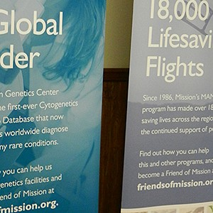 Mission Foundation Retractable Banners