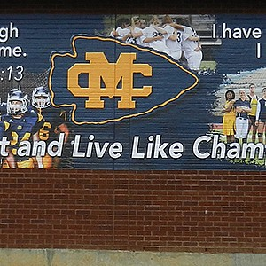 Mississippi College Stadium Display Banners